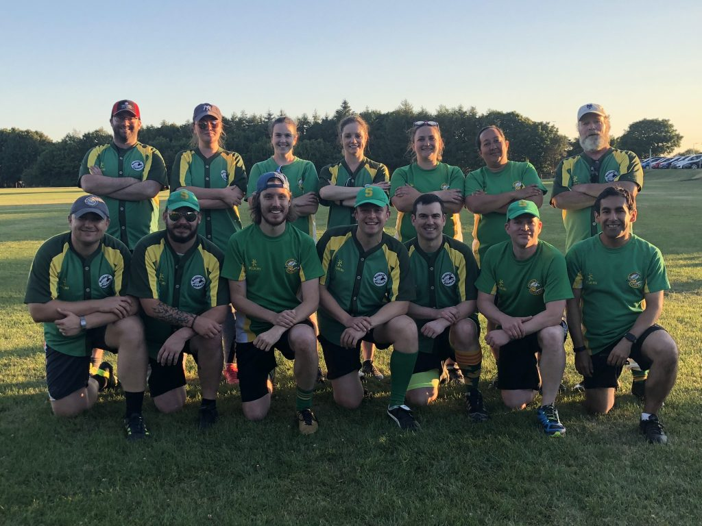 Belfast Sliders Team in 2018